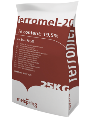 25kg Sulphate Of Iron Ct400