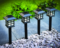 Oriental Solar Stake Light Pk4
