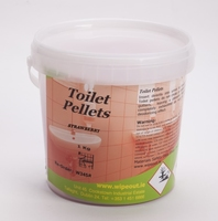 TOILET PELLETS 1kg Strawberry