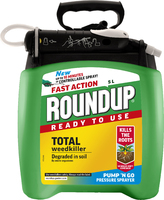 Roundup Weedkiller Pump 'N' Go Ready To Use 5L