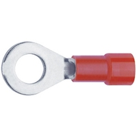 Ring Terminal Red 4.3mm hole