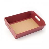BOX TRAY BURG 220X160X50MM BURGUNDY