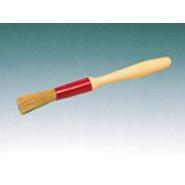 Pastry Brush Round Natural Bristles 15mm Diameter