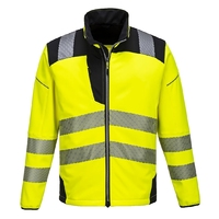 Portwest Vision Hi-Vis Softshell Jacket Yellow