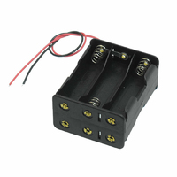 Battery Holder 6AA back to back