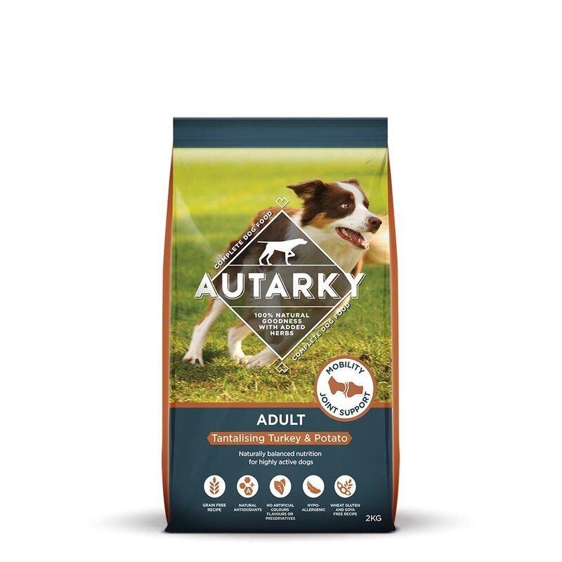 Autarky Turkey & Potato Dog Food 2kg