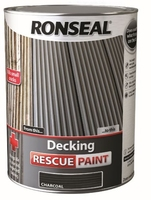 Ronseal Decking Rescue Paint 5lt - Charcoal