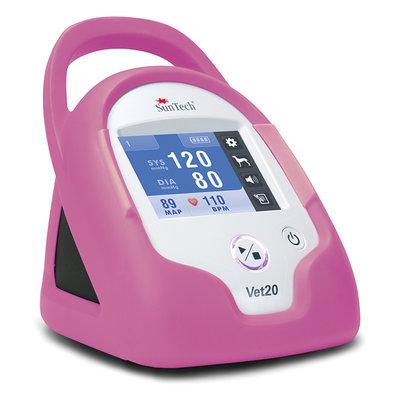 SunTech Vet20 BP Monitor Flamingo Pink Armour