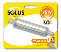Solus 75W = 9W J118 LED R7S 240V