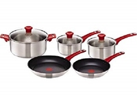 TEFAL ''JAMIE OLIVER'' STAINLESS STEEL INDUCTION 5 PIECE SET