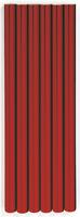 PAPER FOIL RED/SILVER  50CM