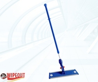 FLAT MOP HOLDER (velcro) & HANDLE (lock)  40cm