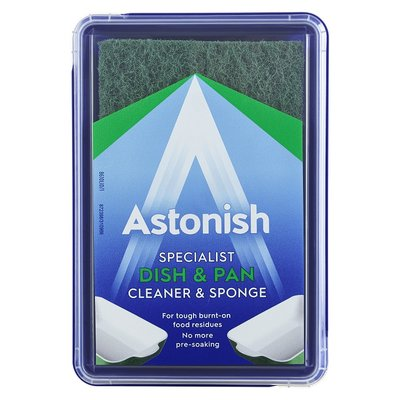 Astonish Premium Edition Dish & Pan Cleaner & Sponge 250g