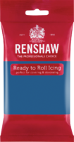 RENSHAW READY TO ROLL ICING ATLANTIC BLUE (2 x 2.5 Kgs)