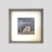 Memories Box Frame Grey 34.5 x 34.5cm