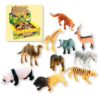TOYS - ZOO AMIMALS PK 144