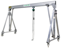 Gantries VGPA - Aluminium hollow profile gantries for loads of 250 to 2,000 kg