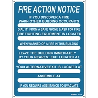 FIRE Action Sign