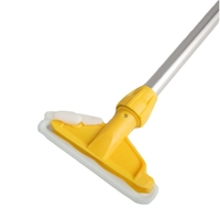 Kentucky Aluminium Mop Handle and Holder, Yellow