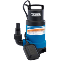 Draper Submersible Dirty Water Pump 550W 166L/min