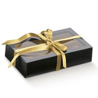 BOX QUAD BLACK & PVC COVER 145X75X35MM S/R