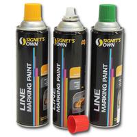 Signet Linemarking Paint 500g Ctn 12
