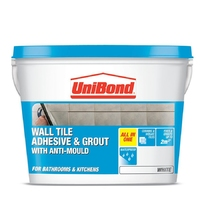 UNIBOND ALL PURPOSE CERAMIC WALL TILE ADHESIVE & GROUT STANDARD