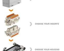 Choosing the correct hoods, bases and inserts for your multipin connector requirements can be confusing, with so many options available.