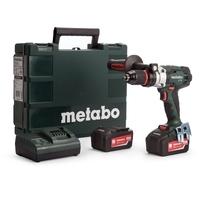 METABO SB18 LTX 18V CORDLESS IMPACT DRILL 2 SPEED 120nm 0-1850rpm  C/W  Box, Charger,  2 X 5.2Ah LIHD Batteries