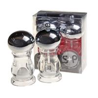 Acrylic Salt & Pepper Set 4''
