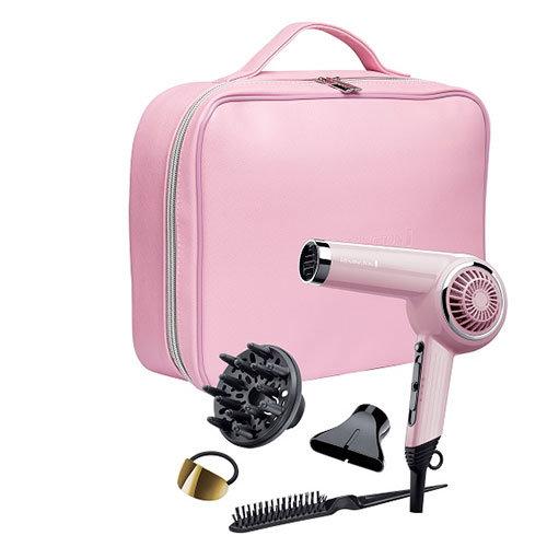 Remington Retro Pink Hair Dryer Set