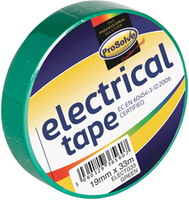 ELECTG33 19MM X 33M GREEN INSULATING TAPE X 10