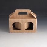 Jarbox 1. Box for 2 8oz Jars. (Pack Of 10)
