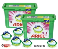 ARIEL 3in1 PODS c/6 FRESH SENSATIONS