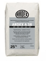 Ardex A 38 Ultra Rapid Drying For Internal And External Screeds 25kg