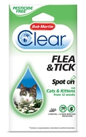 Bob Martin Spot-On Cat Flea Drops 12 Week x 1