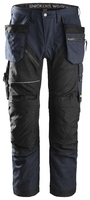 Snickers 6202 Navy Black Ruffwork Trousers