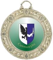 40mm Silver Zamac Rope Medal | TC94
