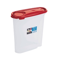 Cuisine 2.5ltr Cereal Dispenser Chili Red Lid