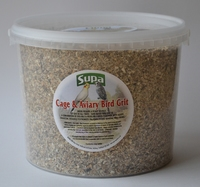 Supa Cage & Aviary Bird Grit Tub 4.8kg / 3 Litre x 1