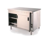 Hot Cupboard S/S 1800x800x900 c/w Sliding Doors 16050 btu's