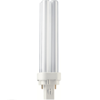 PHILIPS  PLC 18W/84 4 TUBE 2P G24D2 1200LM