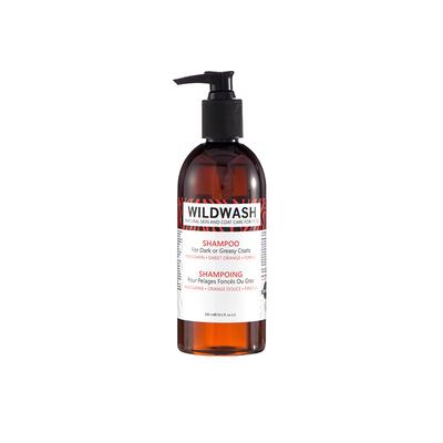 WildWash Pro Shampoo Dark/Greasy Coat 300ml