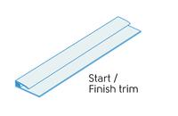 2.50m - 2 PART START/FINISH TRIM POLAR