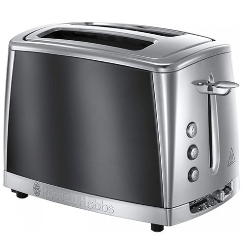 Russell Hobbs Colours Kettle and Toaster Set Grey Kettle /& 2 Slice Toaster Set