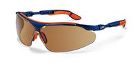 Uvex i-vo Brown Lens Spec, Blue/Orange