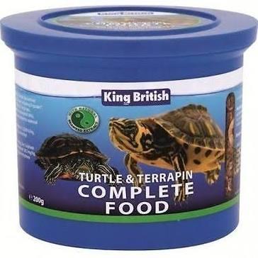 King British Turtle & Terapin Food 200g x 1