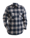 Navy Blue and Wine Red Blaklader 3328-1134 Flannel Shirt