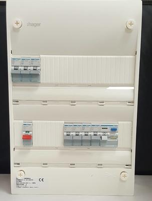 Hager 2 Row Consumer Unit