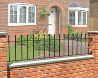 Wenlock Metal Railing 1.83m(W) x 450mm(H)